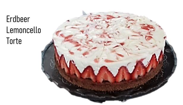 Erdbeer Lemoncello Torte